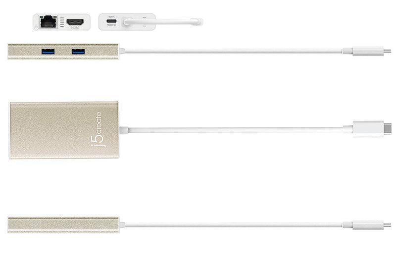 JCA374 USB-C™ Multi-Adapter - HDMI™/Ethernet/USB™ 3.1 HUB/PD 2.0