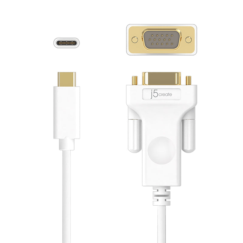 JCC111 USB™ Type-C to VGA Cable