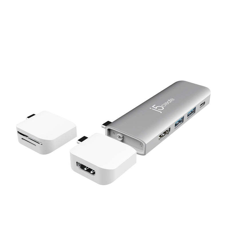JCD375 USB-C™ Modular Multi-Adapter with 2 Kits