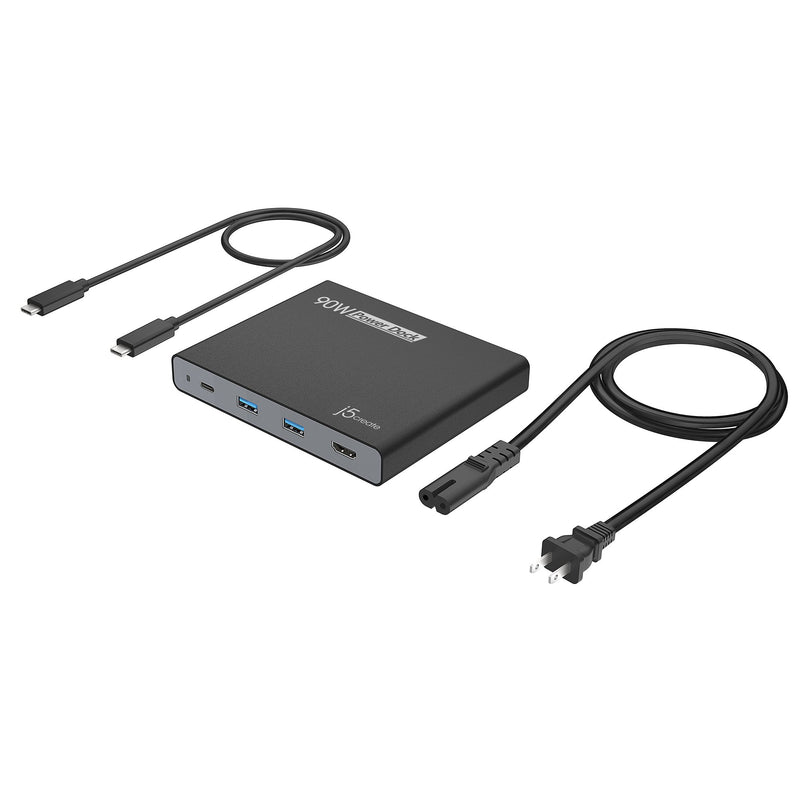JCDP392 90W Built-in USB-C™ Travel Dock