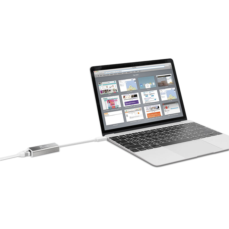 JCE133G USB-C™ to Gigabit Ethernet Adapter