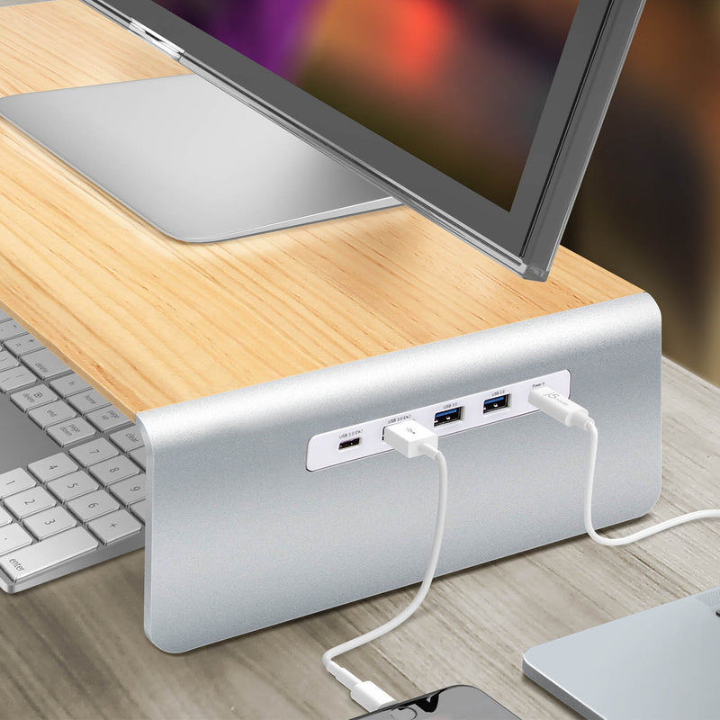 JCT425 Multi-Function Monitor Stand USB Type-C<sup>™</sup>, 4K HDMI<sup>™</sup> & 6-Port USB<sup>™</sup> HUB with Power Delivery