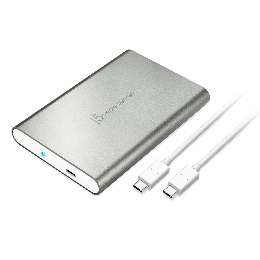 JEE253 USB Type-C 2.5 Inch SATA III External Hard Drive Enclosure