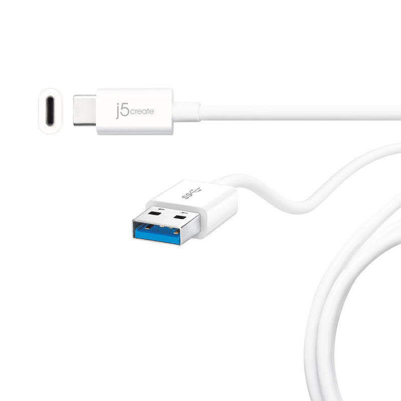 JUCX09 USB Type-C<sup>™</sup> 2.0 to Micro-B Cable