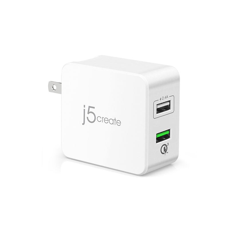 JUP23 2-Port USB Super Charger