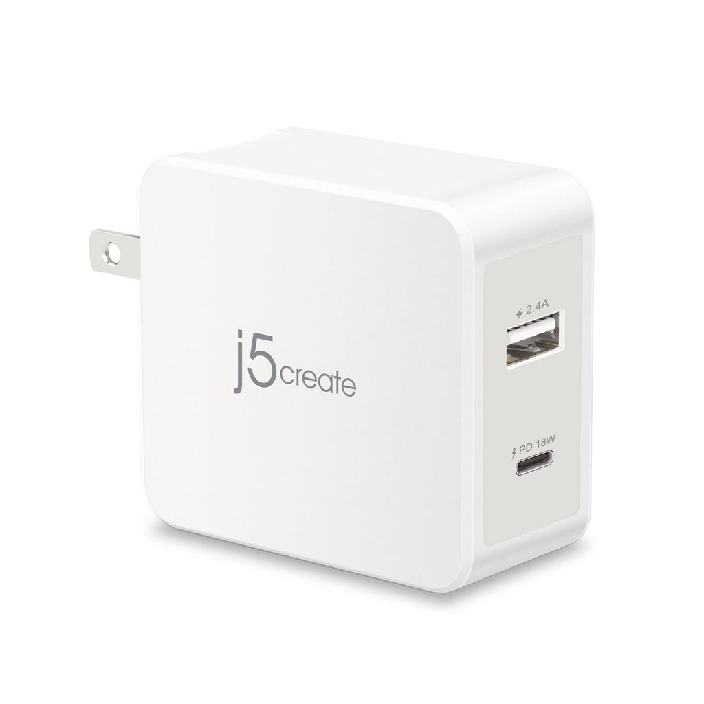 JUP2230 30W PD USB-C<sup>™</sup> Wall Charger