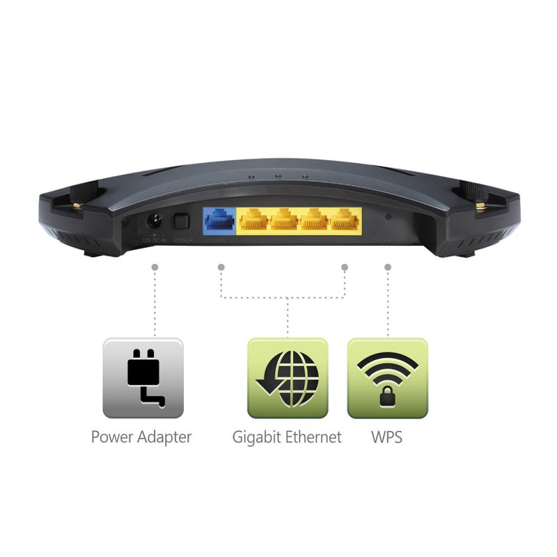 JWR2100 16 User Wireless Presentation Display Router