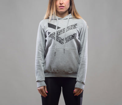 Sudadera gris Full Motivation Hood W