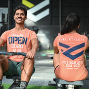 Camiseta Full OPEN 2020 Color Coral Hombre