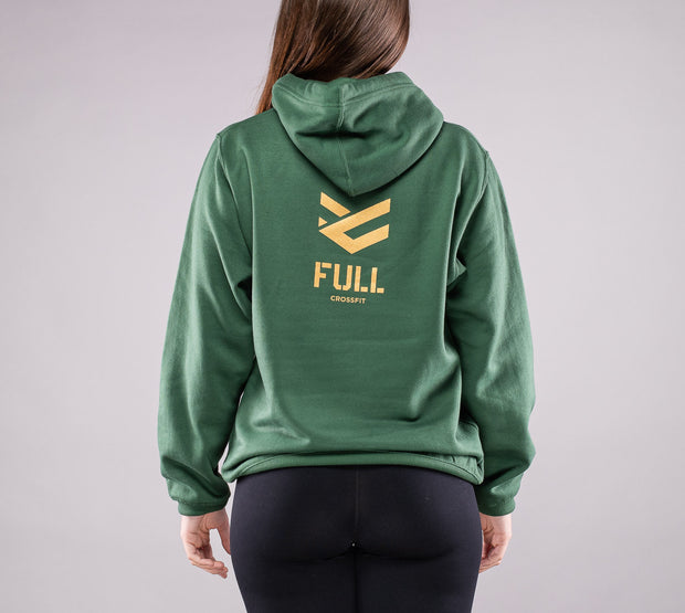 Sudadera Full Gold color Verde Forest para Mujer
