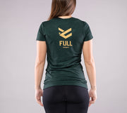 Camiseta Full Gold color Verde Forest para Mujer