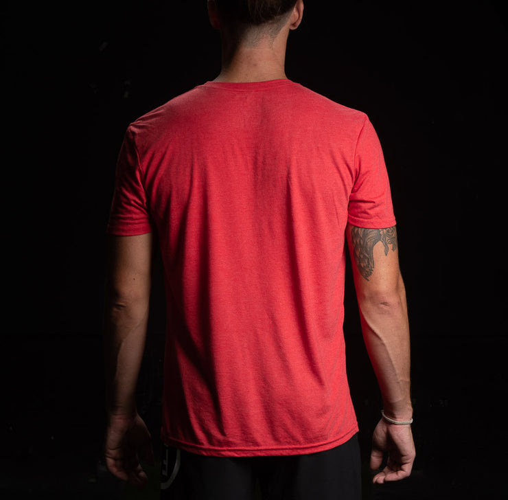 Camiseta Training Culture Original color Rojo hombre
