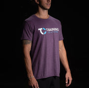 Camiseta Training Culture color Morado para Hombre