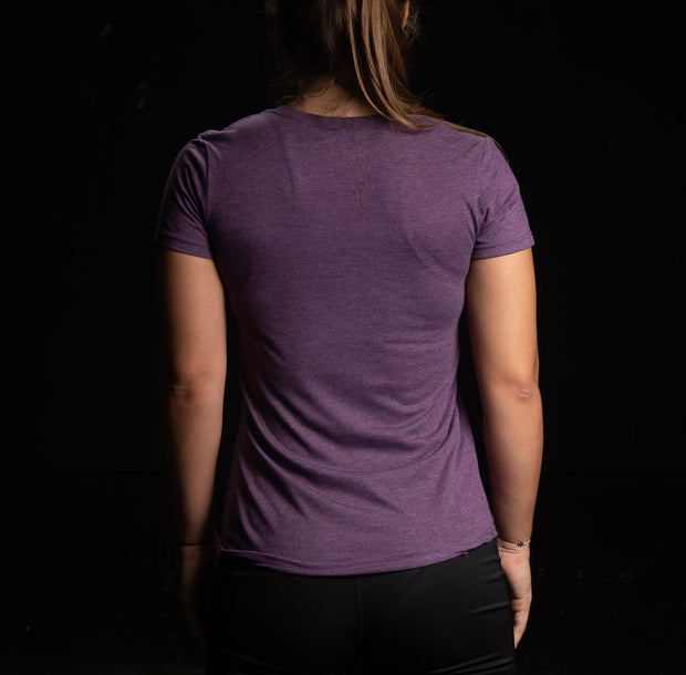 Camiseta de mujer Training Culture Original color morada