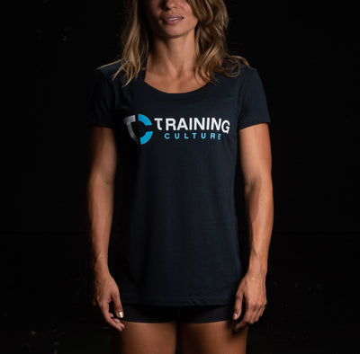 Camiseta de mujer Training Culture Original color azul marino