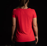 Camiseta de mujer Training Culture Original color rojo