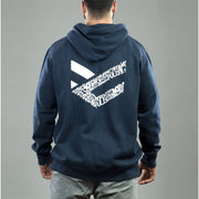 Sudadera azul Full Motivation Zip