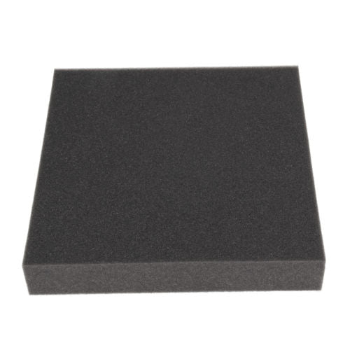 "Professional Upholstery Foam Padding 3"" X 26"" X 26"" CHARCOAL"