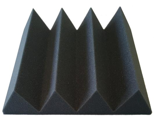 "Acoustic Foam (12 Pack Kit) - Wedge 3"" 12"" x 12"" covers 12sq Ft - SoundProofing/Blocking/Absorbing Acoustical Foam - Made in the USA!"