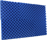 "Blue Acoustic Panels Studio Foam Egg Crate 2"" X 12"" X 12"" ( 6 Pack )"