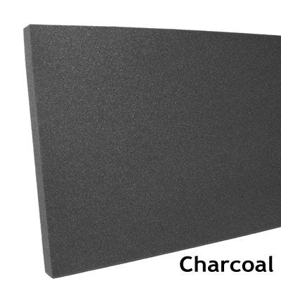 "Professional Gun Case Foam 18"" x 60"" x 1"" inch - 1 piece Charcoal"