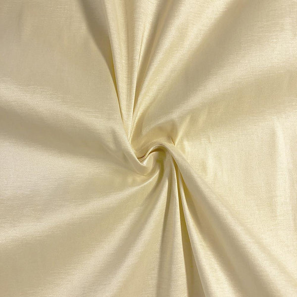 "Taffeta Stretch Fabric 2-Way Stretch 58"" Wide By The Yard (BEIGE)"