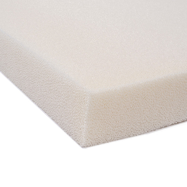 "Dryfast Outdoor Anti-Mildew Upholstery Foam Sheet for Outdoor & Marine Furniture (Chair Cushion Foam for Patio Furniture, Wheelchair Seat Cushion Replacement)(4"" x 26"" x 26"")"