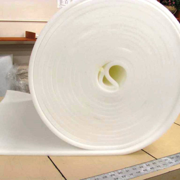UPHOLSTERY FOAM PADDING 1/2 INCH (SOLD BY CONTINUOUS YARD )