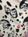101 Dalmatians By Camelot Fabrics Fleece Printed Fabric - By The Yard DIY Warm Blanket Licensed Apparel