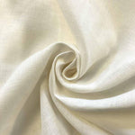 Linen Fabric Softened Linen Fabric by Yard Natural Linen Fabric Stonewashed Linen Fabric,Washed Linen Fabric Pure 100% Linen Fabric OffWhite