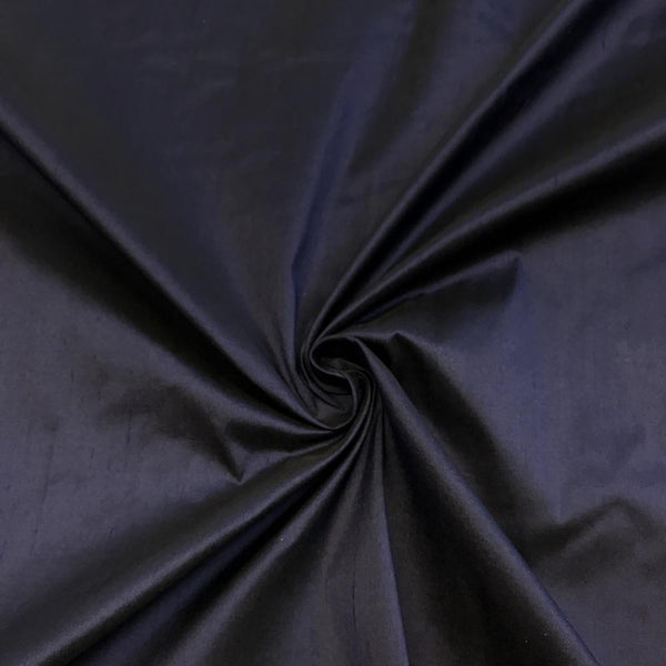 "100% Pure Silk Shantung Fabric 54""Wide BTY Drape Blouse Dress Craft Sold By The Yard. Navy"
