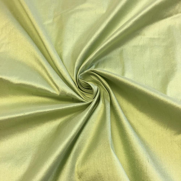 "100% Pure Silk Shantung Fabric 54""Wide BTY Drape Blouse Dress Craft Sold By The Yard.Sage"