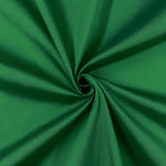 "Emerald Green Polyester Taffeta Lining Fabric 54"" Wide Fabric Sold By The Yard."