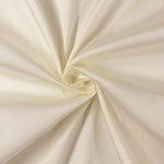 "Ivory Polyester Taffeta Lining Fabric 54"" Wide Fabric Sold By The Yard."