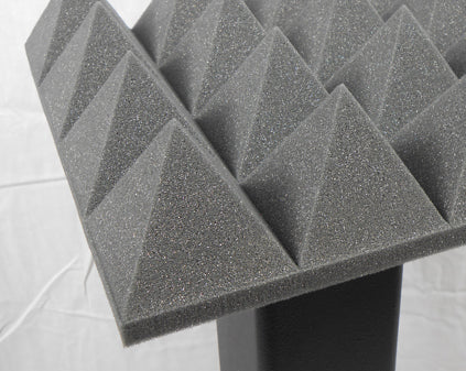 "Acoustic Foam 3"" Thick Pyramid Style 4ft X 6ft Sheet (24 Sqft)"