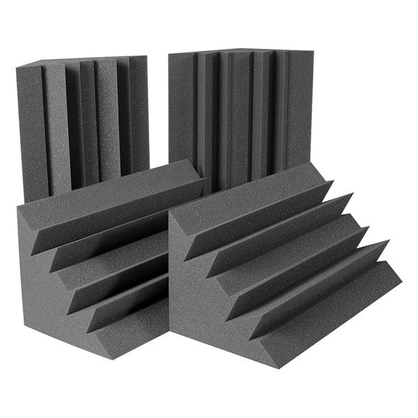 4 Pack! Bass Absorber Trap Corner Soundproofing Foam 12 X12 X 24""