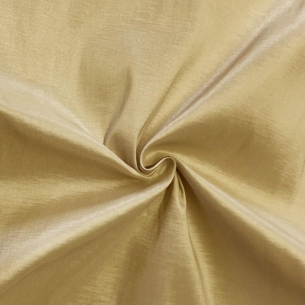 "Taffeta Stretch Fabric 2-Way Stretch 58"" Wide By The Yard (CHAMPAGNE)"