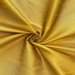 "Poly Dupioni Raw Silk Dupioni Fabric - 58/60"" - Sold By Yard - 100% Polyester. Antique Gold"