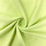 "Organic Cotton Flannel - Cotton Flannel - Fabric - 44/45"" Fabric Sold By Yard Lime"