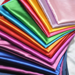Stretch Charmeuse Satin Polyester Fabric By The Yard. Choose Color Below