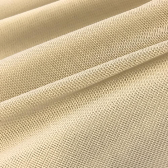"Power Mesh Fabric Nylon Spandex 60"" wide Stretch Sold By Yard Champagne"
