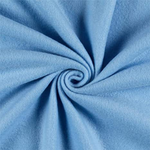 "Solid Polar Fleece Anti-Pill Fabric Sold By Yard 60"" Width Winter Polar Blankets Covers 2 Sided Brushed. LIGHT BLUE"