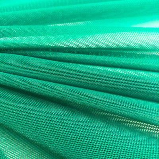 "Power Mesh Fabric Nylon Spandex 60"" wide Stretch Sold By Yard Jade"