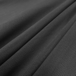 "Power Mesh Fabric Nylon Spandex 60"" wide Stretch Sold By Yard Charcoal"