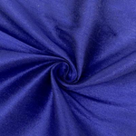 "Poly Dupioni Raw Silk Dupioni Fabric - 58/60"" - Sold By Yard - 100% Polyester. Royal Blue"