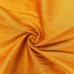 "Poly Dupioni Raw Silk Dupioni Fabric - 58/60"" - Sold By Yard - 100% Polyester. Gold"