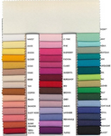 "Polyester Poplin Fabric, 58"" Wide,  Sold By Yard Choose Color Below"