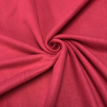 "Solid Polar Fleece Anti-Pill Fabric Sold By Yard 60"" Width Winter Polar Blankets Covers 2 Sided Brushed. FUCHSIA"