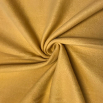 "Solid Polar Fleece Anti-Pill Fabric Sold By Yard 60"" Width Winter Polar Blankets Covers 2 Sided Brushed. GOLD"