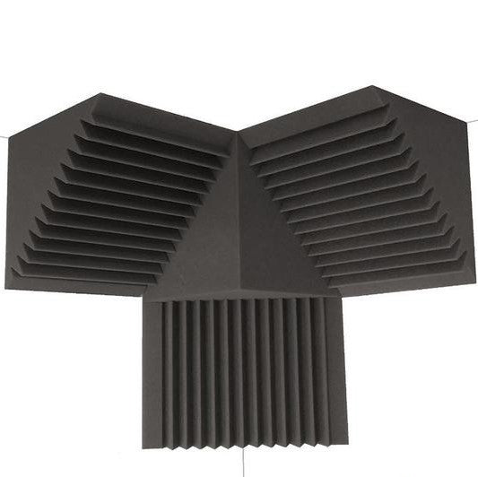 Professional Acoustic Foam Soundproof Bass Trap Corner Kit